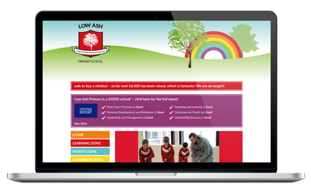Low Ash Primary School website